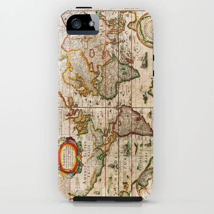 Vintage Map iPhone & iPod Case