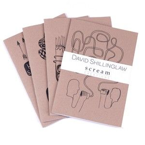 Scream London - Journal Notebooks