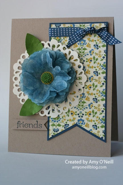 crepe flower–PP134 @ DIY Home Crafts