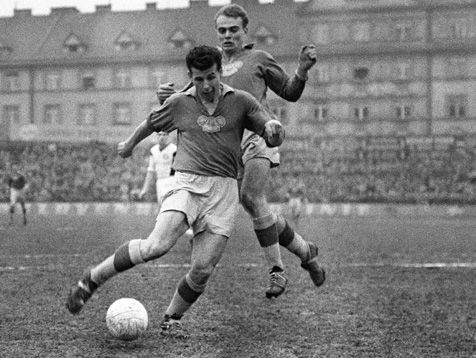 1962- Josef Masopust is a Czechoslovak former football player and coach. He was named European Footballer of the Year in 1962.