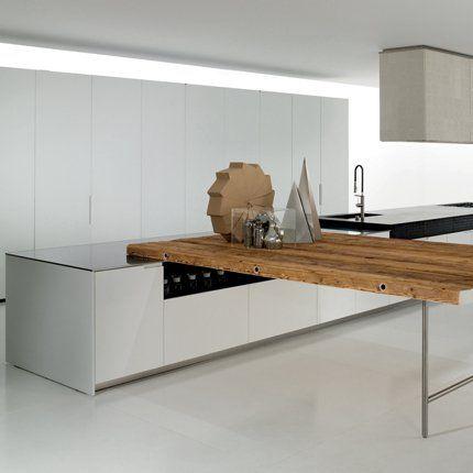 cuisine duemilaotto en bois pierre et inox boffi cuisine en bois meuble de cuisine et de. Black Bedroom Furniture Sets. Home Design Ideas