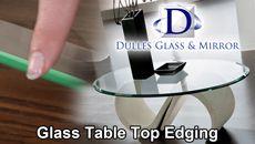 Custom glass top for my coffee table