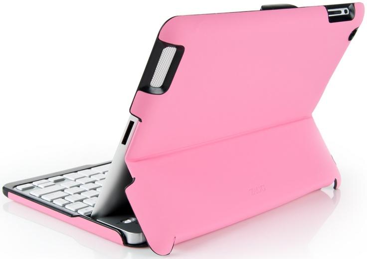Pink ZAGGfolio - iPad Keyboard Case: Apples Ipad, Birthday Presents, Bluetooth Keyboard, Ipad Cases, Ipad Keyboard, Zaggfolio Ipad, Keyboard Cases, Pink Zaggfolio, Zaggfolio Apples