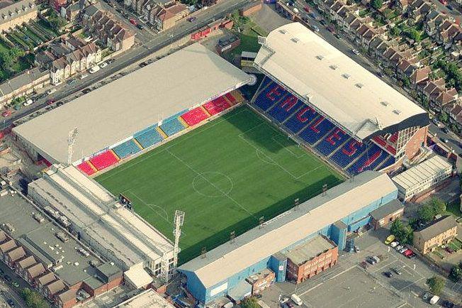 Crystal Palace FC Selhurst Park Capacity: 26.255