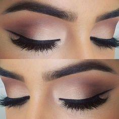 beautiful and classic eye makeup