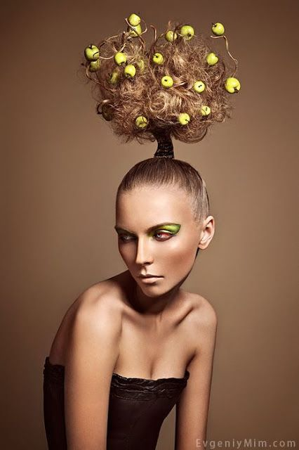 Floral, fruity and veggie hairstyles!!!   The HairCut Web!
