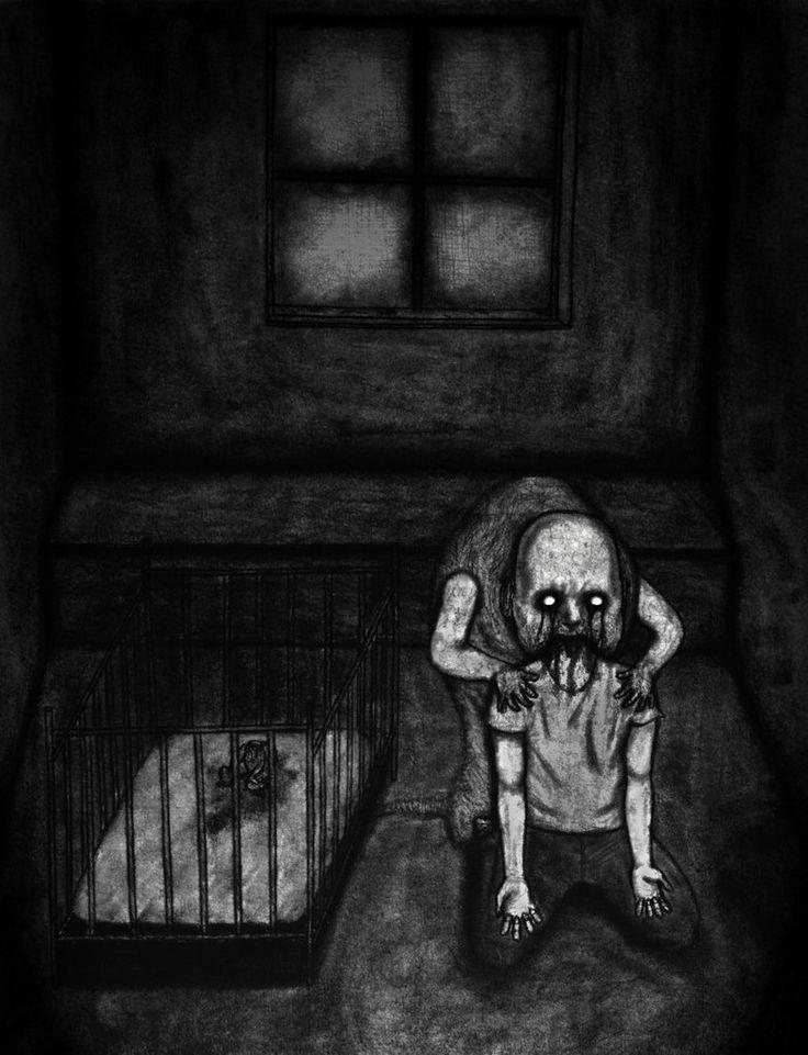 Nightmare Chewer by Pyramiddhead.deviantart.com on @DeviantArt