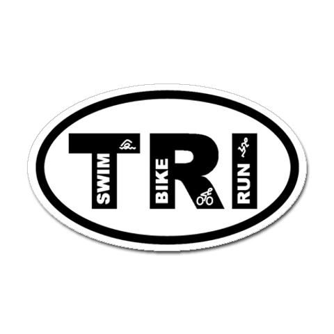 Triathlon. My first one completed June 2012.  Huge personal accomplishment!: Favorite Things, Swimbikerun Stickers, Triathlon Logos, Logos Ideas, Sprint Triathlon, Swim Bike Running, Bumper Stickers, Fit Goals, Fit Motivation