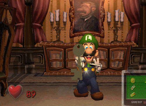 Luigi's Mansion, GameCube.