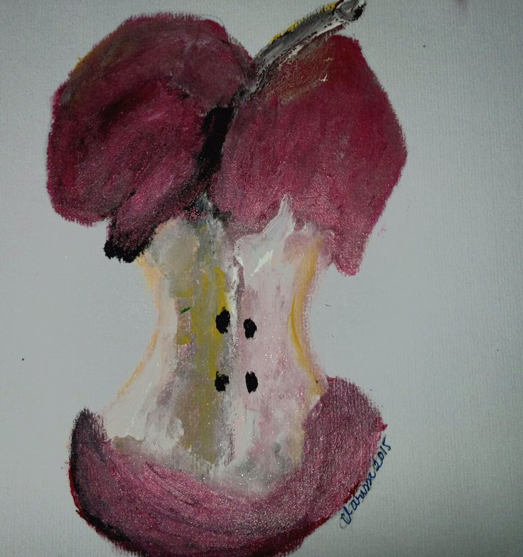 lipstick painting