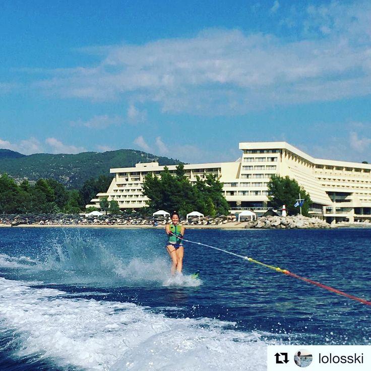 Live the great travel experience!   #PortoCarras #Halkidiki #Sithonia #watersports #seaside #followus