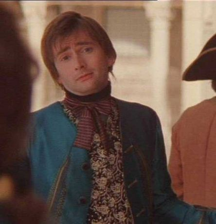 "Casanova  David Tennant The ""Egh, Why not?"" look."