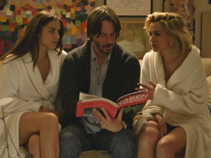 """Keanu Reeves' whiny monologue comparing an act of infidelity to """"free pizza"""" is a moment that seems destined for cult canonization."""