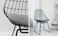 Pastoe - Wire Collection - Wire Chair SM05 - SM05 zwart Design: Cees Braakman - 1958