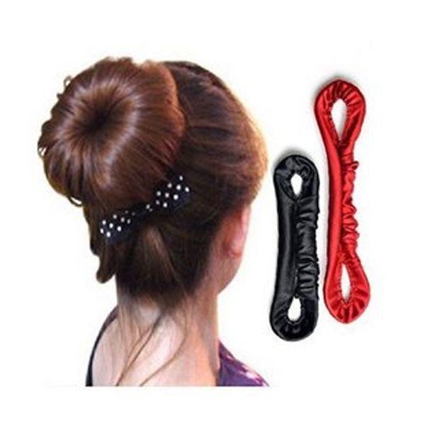 $0.96 Colorful Elastic Phone Wire Strap Ponytail Holder Hair Band Rope Bracelet - BornPrettyStore.com