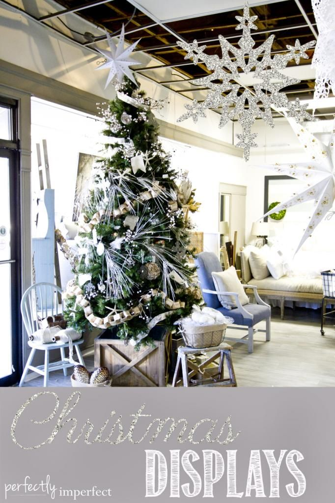 On Finding inspiration -- and here's a peek at our Christmas displays (more to come soon) | Perfectly Imperfect