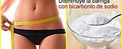 Cómo disminuir la barriga con bicarbonato de sodio, ¡te lo contamos aquí!