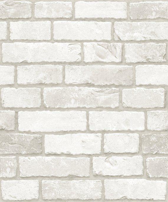 White Real Brick 3m Wb 633 Brick Pattern Vinyl Self Adhesive Peel Stick Wallpaper Interior Sheet Brick Patterns White Brick Patterned Vinyl