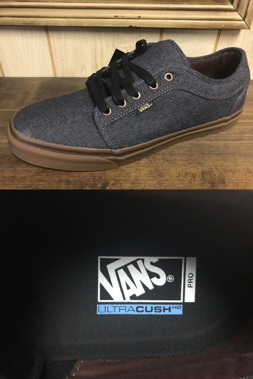 Men 159070: Vans Chukka Low Pro Gray Gum Men S Size 16 -> BUY IT NOW ONLY: $65 on eBay!