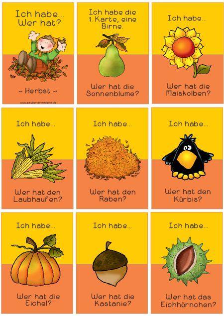 Lesespiel-Herbst Zaubereinmaleins