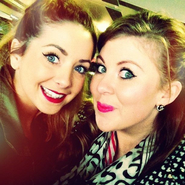 Awesome! My fav you-tubers! Zoe and Louise!