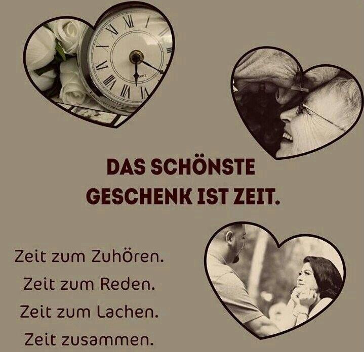 :) Sich Zeit nehmen und geben. Danke Schatz Daizo