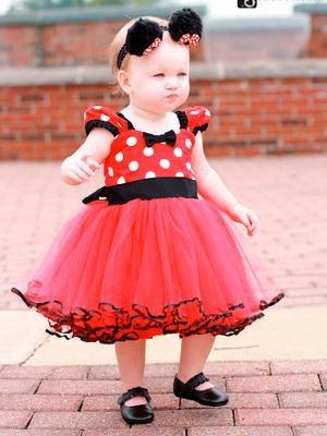 Doğum Günü Elbise-Kırmızı