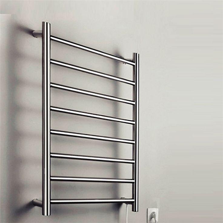壁掛けタオルウォーマー タオルヒーター タオルハンガー+簡易乾燥 ステンレス鋼 70W