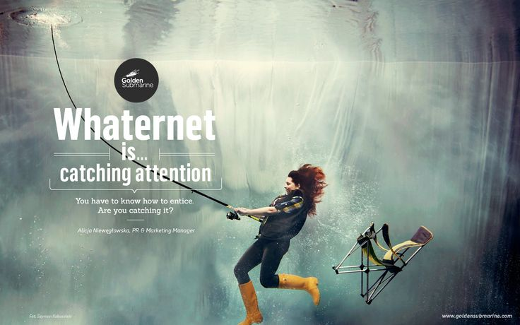 #whaternet is... catching #attention. You have to know how to entice. Are you catching it?