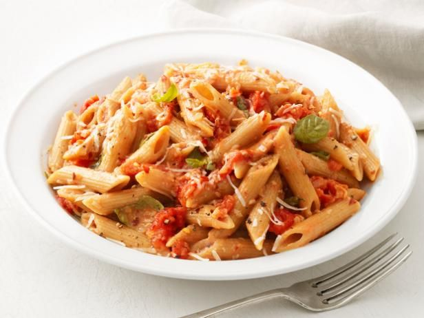 Penne with Vodka Sauce is as sinful as it sounds. Cream and Parmesan cheese are added to the tomato vodka sauce to create a heavenly, rich combination.
