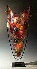 "Thoroughfare by Caleb Nichols (Art Glass Sculpture) (38"" x 14"")"
