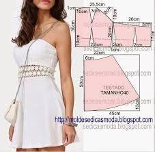 Resultado de imagen para patrones de vestidos espalda descubierta