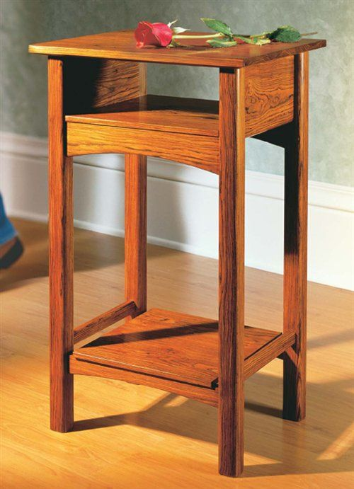 Barbara's Table - Woodworking Projects - American Woodworker