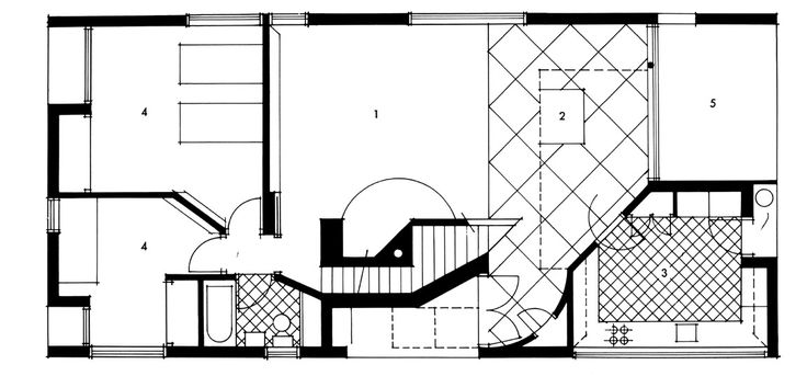 Vanna Venturi House   Robert Venturi | Grundrissfibel | Pinterest |  Architecture Plan And Architecture