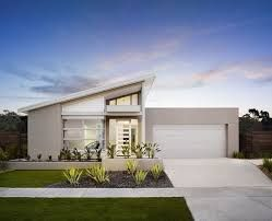 Image result for skillion roof facade