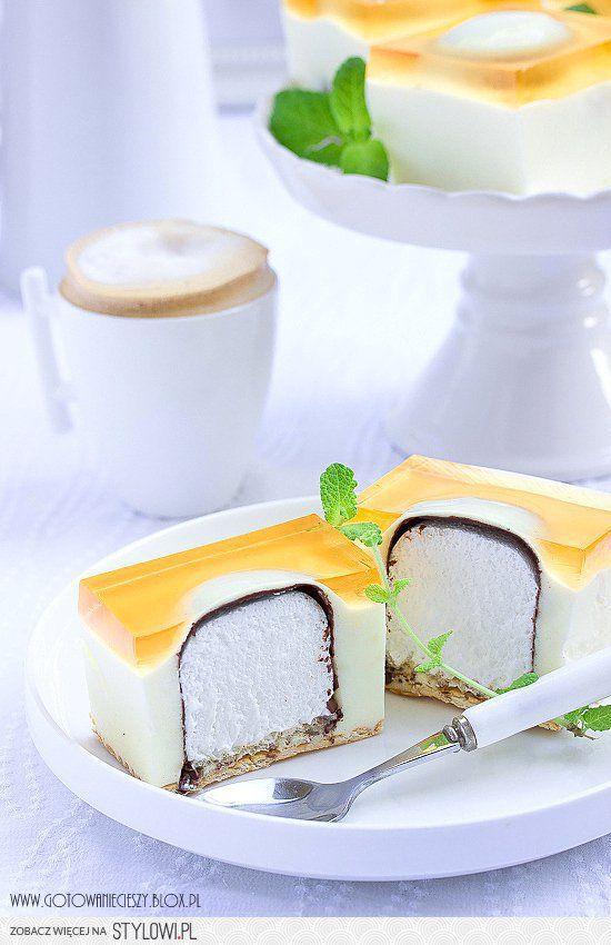 ciasto z ciepłymi lodami Składniki na formę 25x30 cm (1… na Stylowi.pl