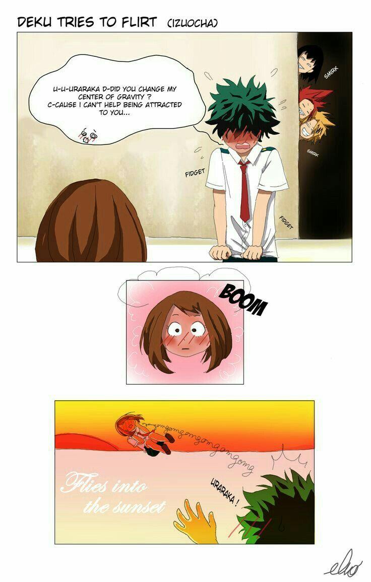 Deku Tries To Flirt Uraraka My Hero Academia Episodes My Hero Hero