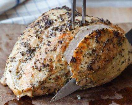 The Barefoot Contessa's Herb-Roasted Turkey Breast Recipe http://www.thedailymeal.com/barefoot-contessas-herb-roasted-turkey-breast