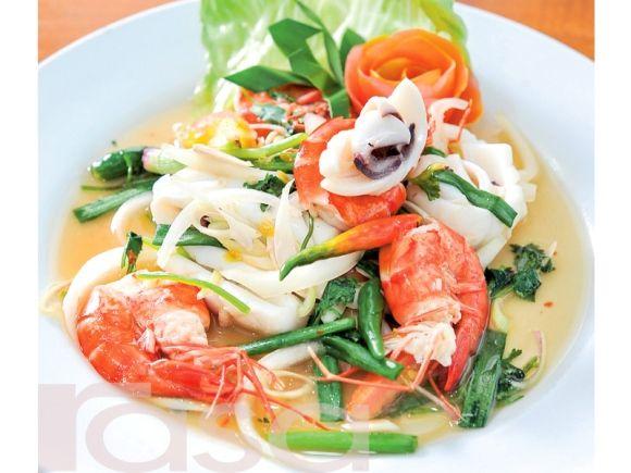 Kerabu Makanan Laut