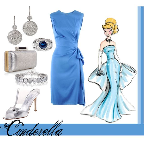 Cinderella, created by annmarie0697  This set is part of my Disney Princesses collection.