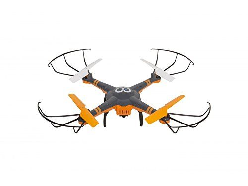 Drone Goclever GCDHD Cam-Cámara HD, Naranja/Negro - http://www.midronepro.com/producto/drone-goclever-gcdhd-cam-camara-hd-naranjanegro/