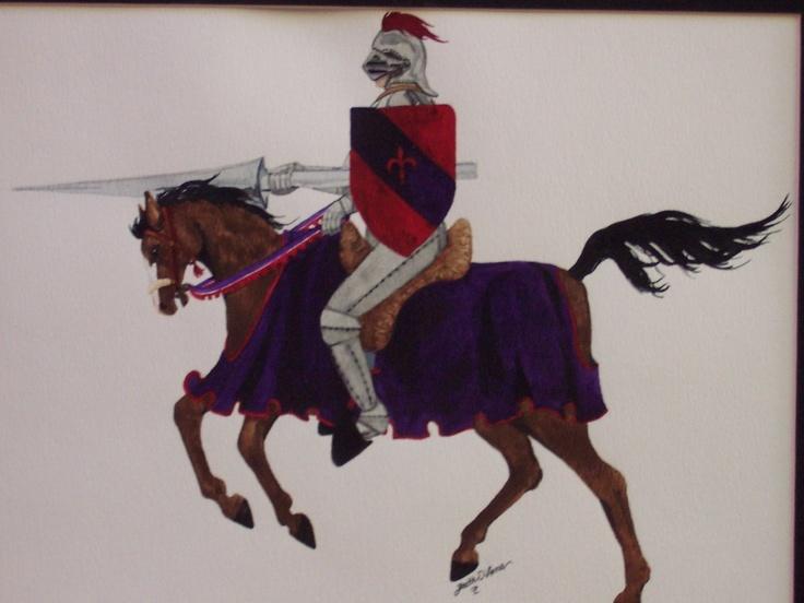 Saint George: Watercolor Galleries, Saint George, Fairies Tales