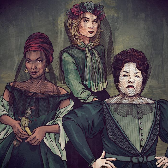 Marie, Fiona and Madame LaLaurie - AHS