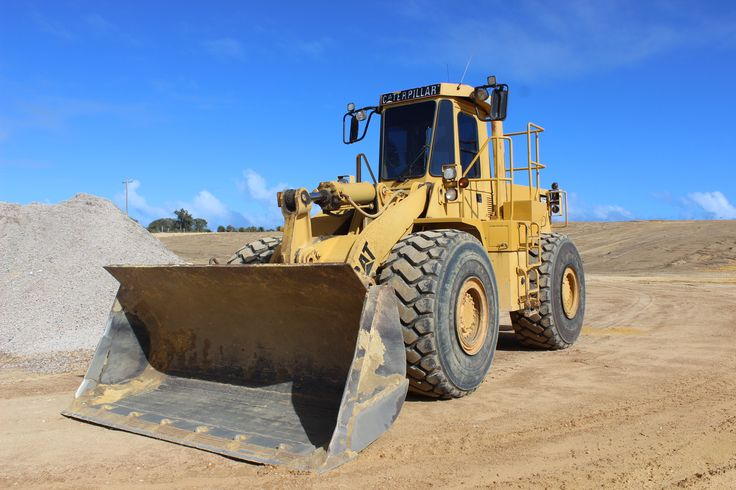This is our Cat 966 Front-End Loader.