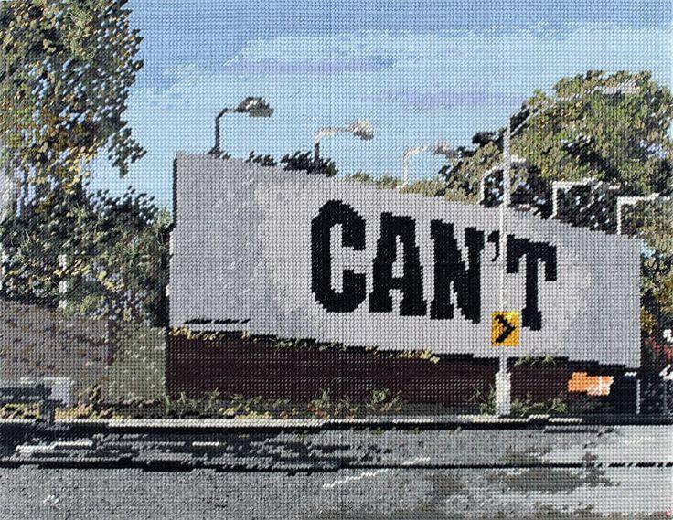 Michelle Hamer born Australia 1975 'Can't' 2013