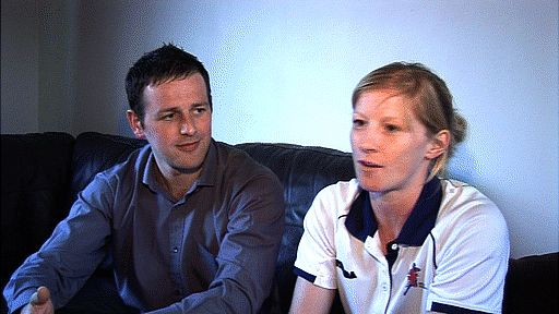 Many athletes forgo some of life's luxuries in pursuit of success, but few have sacrificed quite as much as GB handball captain Lynn McCafferty and her husband Gary - as Nick Hope reports.