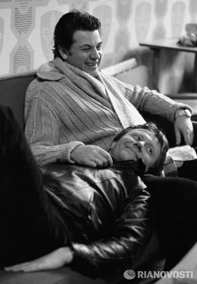 Александр Ширвиндт и Андрей Миронов. РИА Фото, Виталий Арутюнов, 1980 год