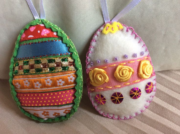 Striped egg & a different rose pattern