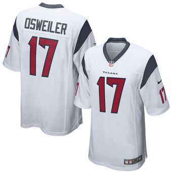 Nike Brock Osweiler Houston Texans White Football Jersey #texans #houston  #nfl