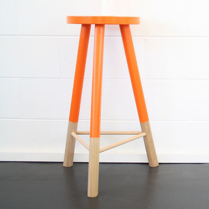 Babanees Stool - Orange $265